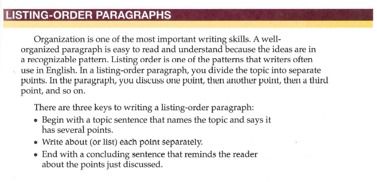 order of essay paragraphs Essay structure essay maps are not concerned with paragraphs so much as with sections of though—the order in which the ideas appear is not a.